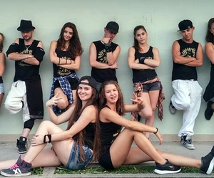 dance, dancing, and group image
