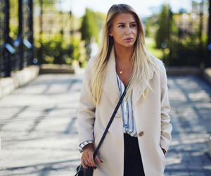 blog, blonde, and casual image