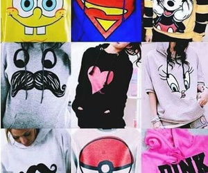 pink, superman, and pokemon image