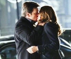 castle, beckett, and stana katic image