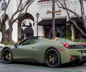 ferrari, car, and green image