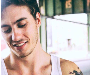 boy, grin, and music video image