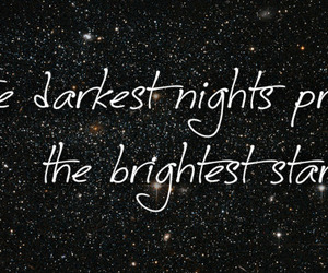 black, nights, and quotes image