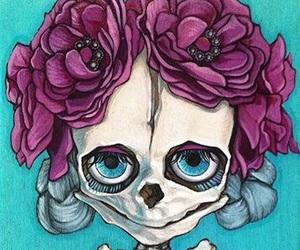 catrina, dia de muertos, and mexico image