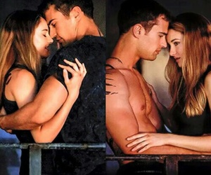 couple, divergent, and fandom image