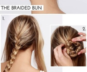 Easy, hair, and diy hairstyles image