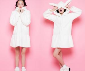 white, kawaii, and winter image