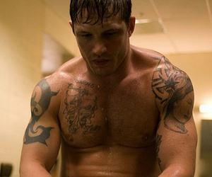 fighter, Tattoos, and tom hardy image