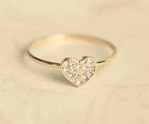 heart, ring, and love image