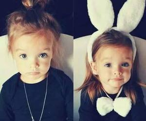 cute, baby, and bunny image