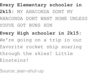 elementary, funny, and high school image