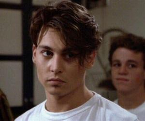 johnny depp, boy, and Hot image