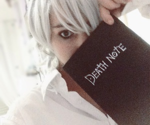 cosplay, deathnote, and near image