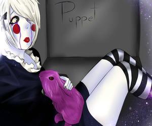 puppet and fnaf image