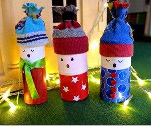 toilet paper rolls, kids crafts, and toilet paper roll crafts image