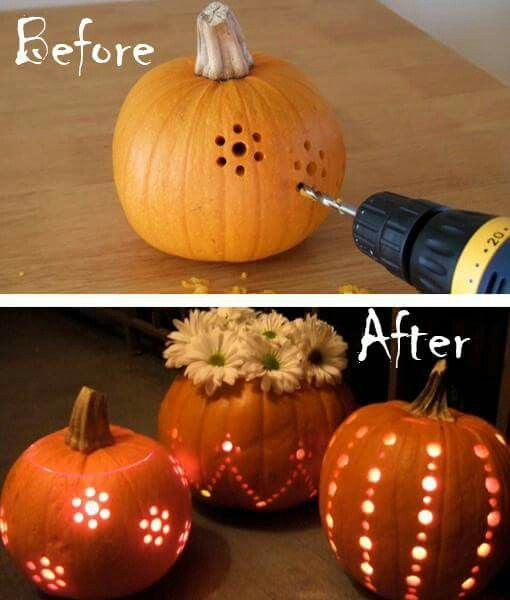 autumnal, carving, and creativity image