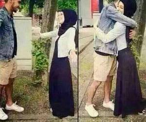 sweet, hijab style, and love image