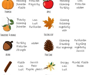 autumn, witchcraft, and fall image