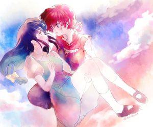 anime, ranma 1 2, and ranma saotome image