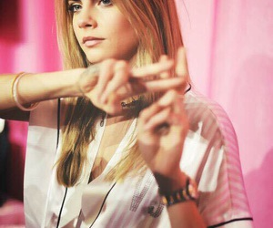 cara delevingne, model, and Victoria's Secret image