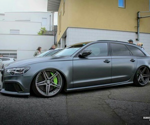 audi, grey, and low image