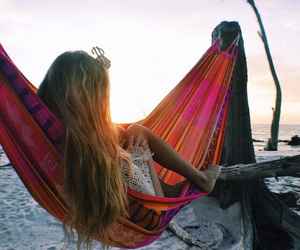 summer, beach, and boho image