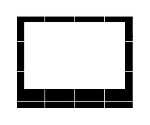frame and polaroid image