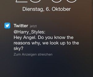 twitter, taylorswift, and harrystyles image