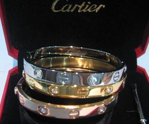 cartier, bracelet, and luxury image