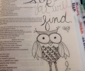 black and white, drawing, and bible verse image