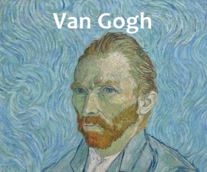 van gogh, aesthetic, and funny image