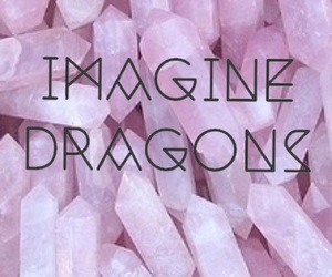 pink and imaginedragons image