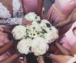 fashion, wedding, and woman image