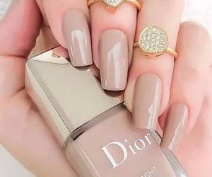 dior, girl, and nails image
