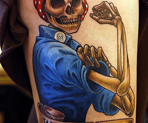 tattoo, we can do it, and skull image