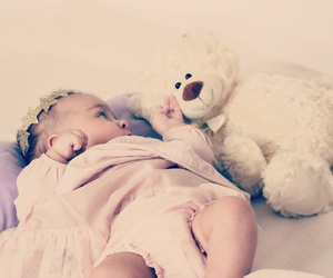 baby, bear, and cutie image