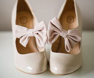 shoes, vintage, and bow image