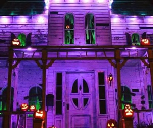Halloween, haunted house, and autumn image
