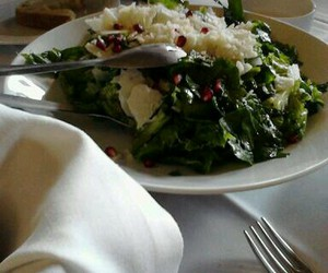 food, salad, and greek food image