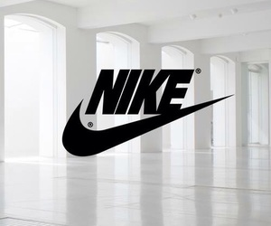 nike, white, and aesthetic image