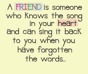friends and quote image