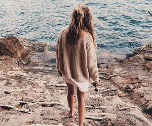 girl, sea, and style image