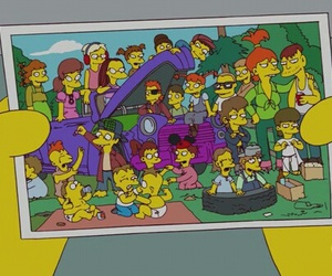 lol, simpsons, and tv image