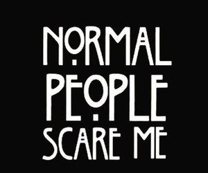 american horror story, ahs, and normal image