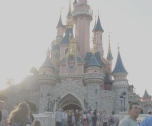 disney, pale, and castle image