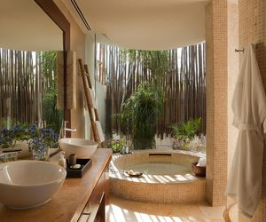 bathroom, beautiful, and home image