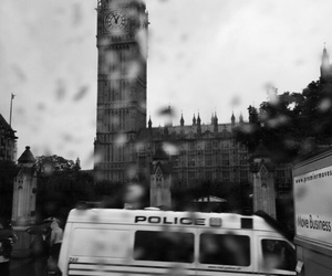 big ban, london, and police image