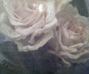 roses, art, and flowers image