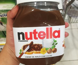 candy, nutella, and love image