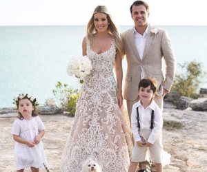 bride and groom, casamento, and family image
